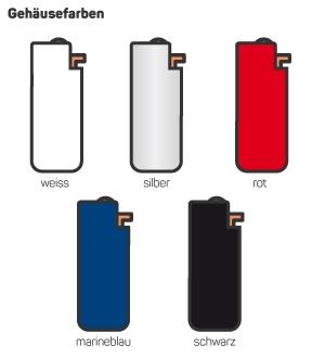 Aluminium Feuerzeughülle Gehäuse bedruckt Werbefeuerzeug Druck Schweiz