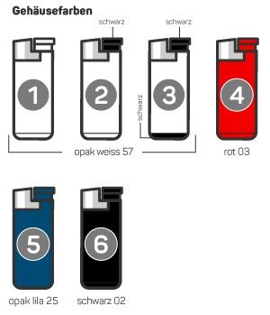BiC J38 Feuerzeug Piezo Zündung elektronisch Shop bestellen