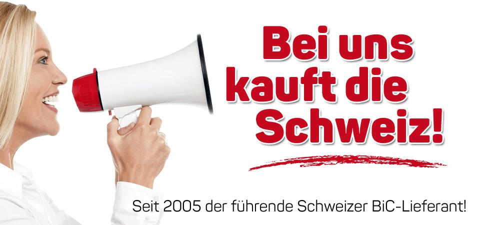 BiC Feuerzeuge bestellen aus der Schweiz mit Druck