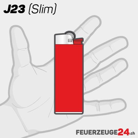 J23 Feuerzeug mit Druck Werbeartikel Lighter