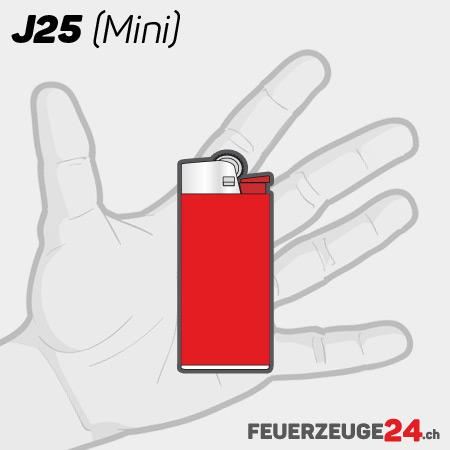 Kleines BiC Feuerzeug mit Druck Shop Schweiz