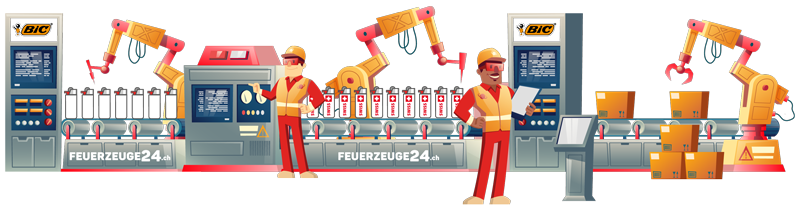 BiC Feuerzeug Druck Schweiz iPromotion Oensingen